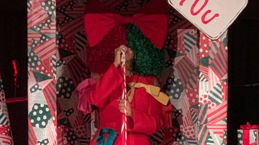 Sia bei der Kardashian-Weihnachtsparty