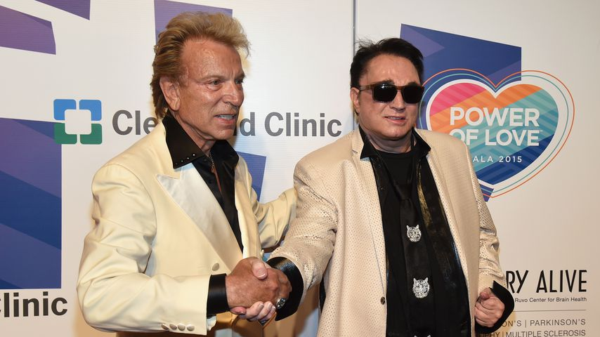 Siegfried Fischbacher und Roy Horn im Juni 2015 in Las Vegas