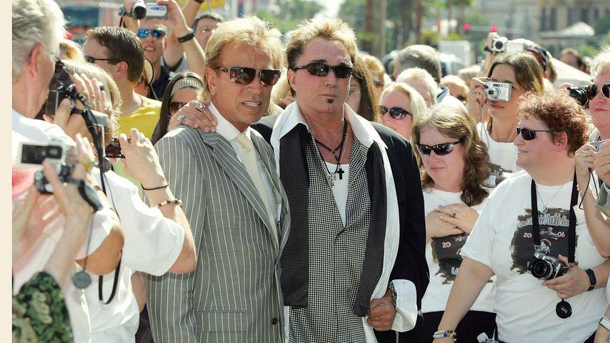 Siegfried Fischbacher und Roy Horn in Las Vegas im Oktober 2006