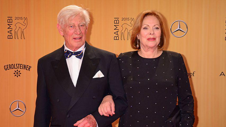 Siegfried Rauch und Heide Keller beim Bambi 2015
