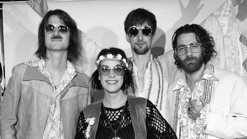 Die Band Silbermond an Silvester 2017