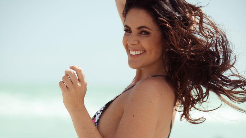 Bachelor-Kandidatin Silvana Joppich am Miami Beach