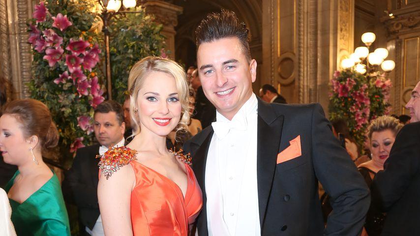 Silvia Schneider und Andreas Gabalier beim Wiener Opernball 2015