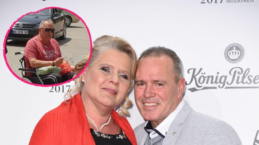 Im Rollstuhl: Wie schlecht geht es Silvia Wollnys Harald?