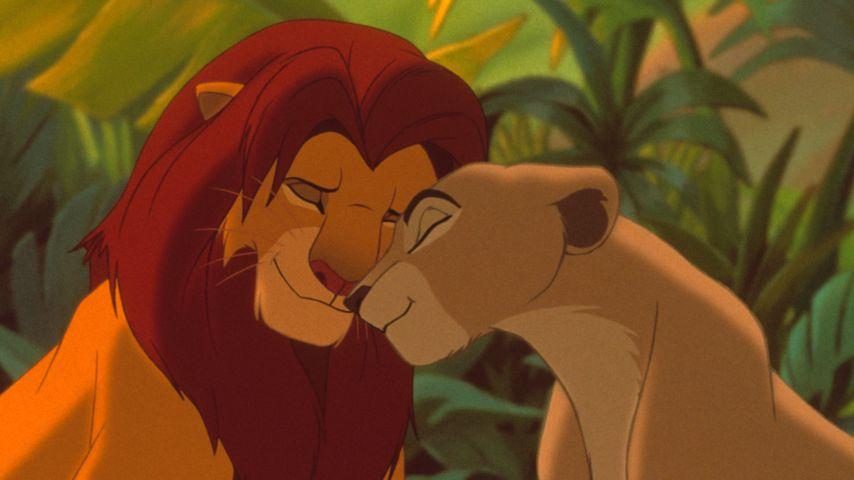 """Simba und Nala aus """"König der Löwen"""""""