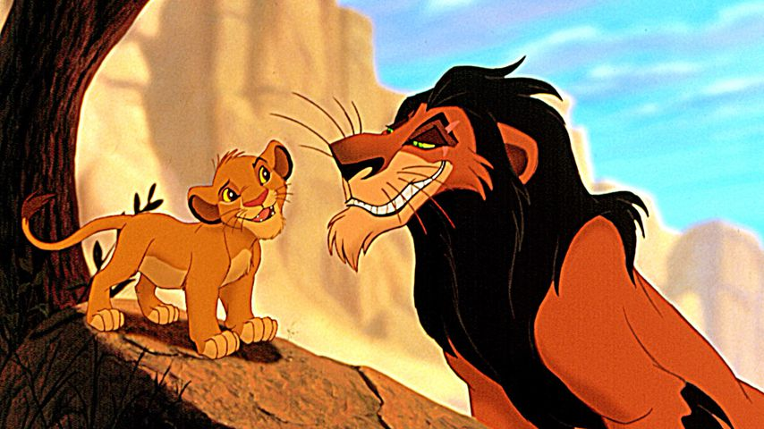 """Simba und Scar in """"König der Löwen"""""""