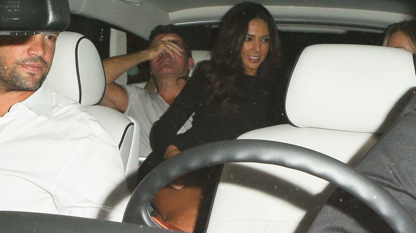 Nanu: Bald-Papa Simon Cowell mit Ex auf dem Schoß