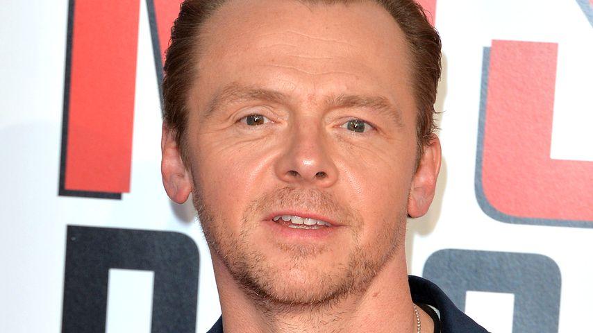 """Während """"Mission: Impossible"""": Simon Pegg kämpfte mit Sucht"""
