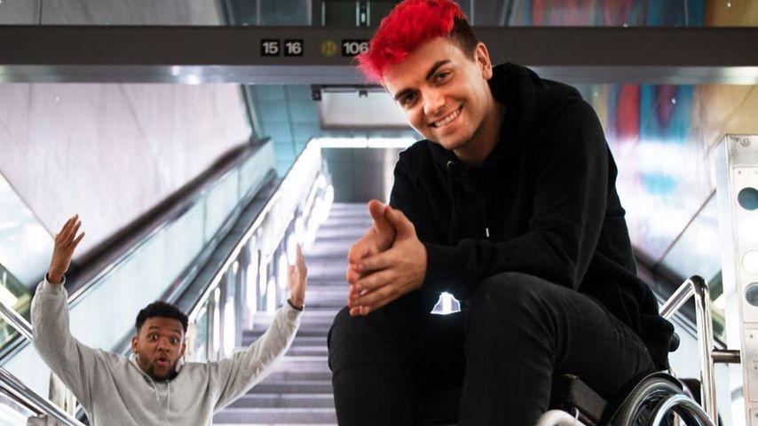 Rollstuhl-Experiment: YouTuber Simon Will erntet Respekt!
