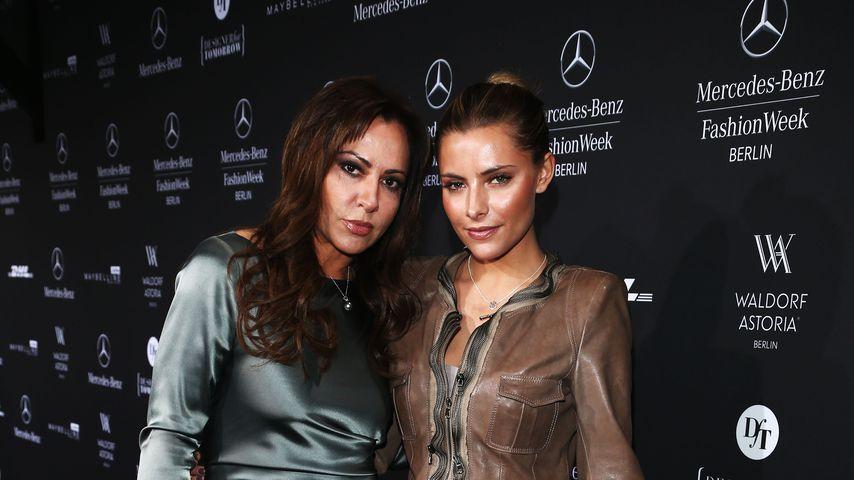 Simone und Sophia Thomalla bei der Mercedes-Benz Fashion Week 2013