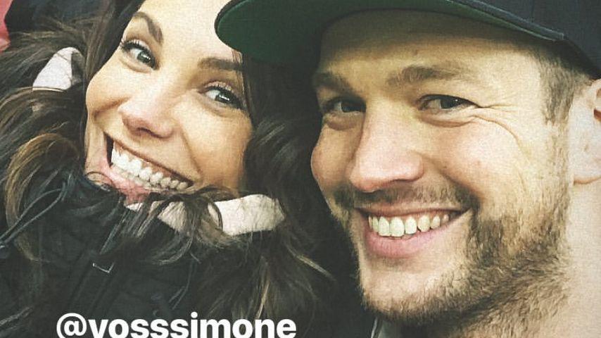 1. Pärchen-Pic! Marvin Albrecht & Simone verliebt im Stadion