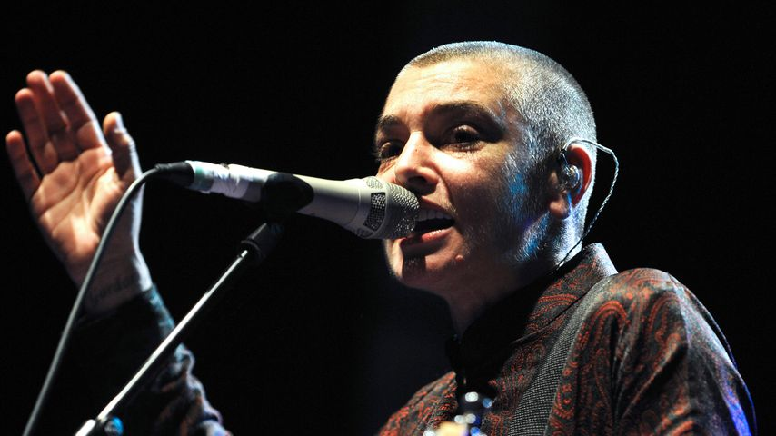 Sinéad O'Connor im August 2013 in Lorient
