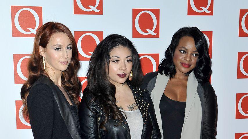 Siobhan Donaghy, Mutya Buena und Keisha Buchanan, 2012