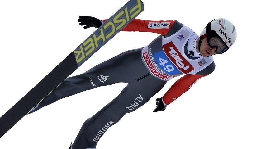 Schock! Skispringer Simon Ammann schwer gestürzt