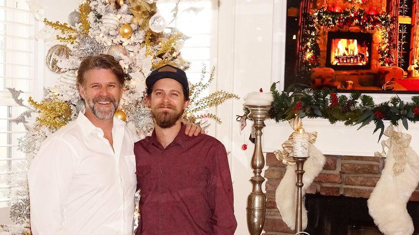 Slade Smiley mit seinem Sohn Gavin