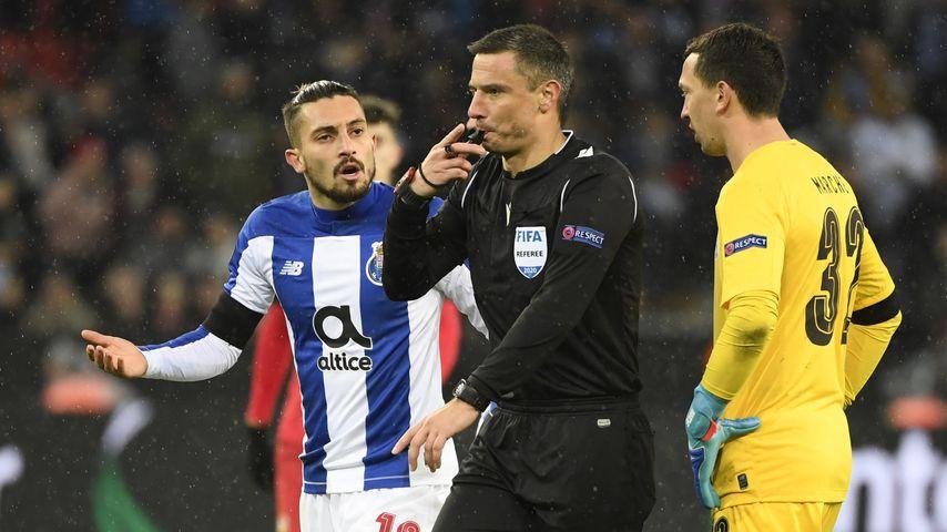 Slavko Vincic bei einem Spiel der Europa League