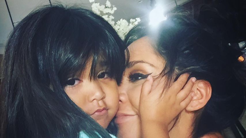 Snooki mit ihrer Tochter Giovanna, September 2018