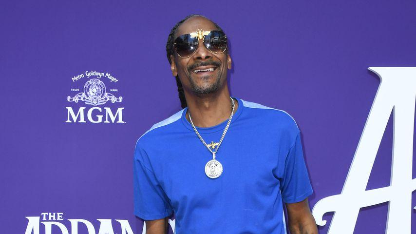 """Snoop Dogg auf der Premiere von """"The Addams Family"""" in Los Angeles"""