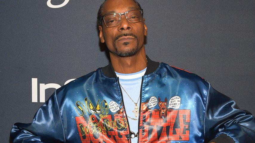 Snoop Dogg bei der Golden-Globes-Afterparty in Beverly Hills im Januar 2020