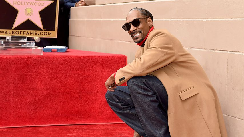 Snoop Dogg auf dem Hollywood Walk of Fame