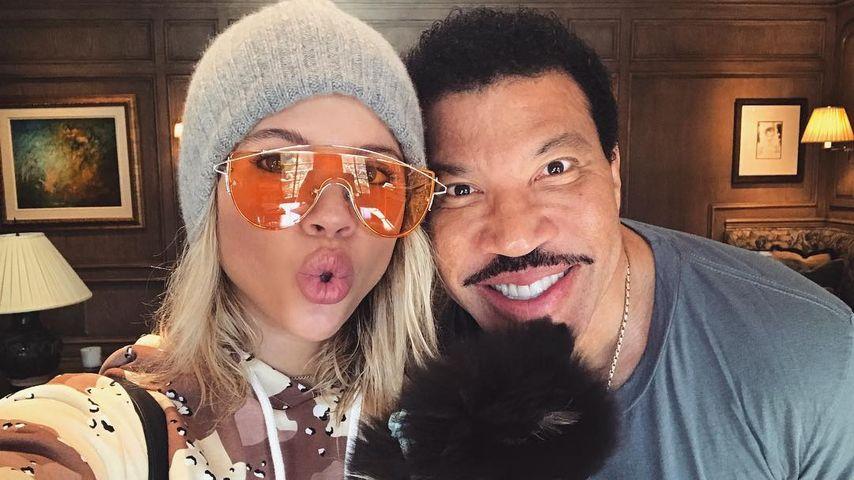 Sofia Richie mit Vater Lionel Richie