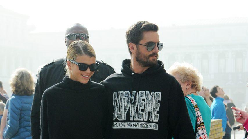 Sofia Richie und Scott Disick in Venedig