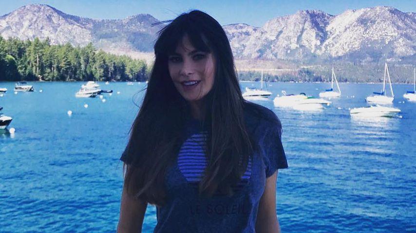 Sofia Vergara am Lake Tahoe