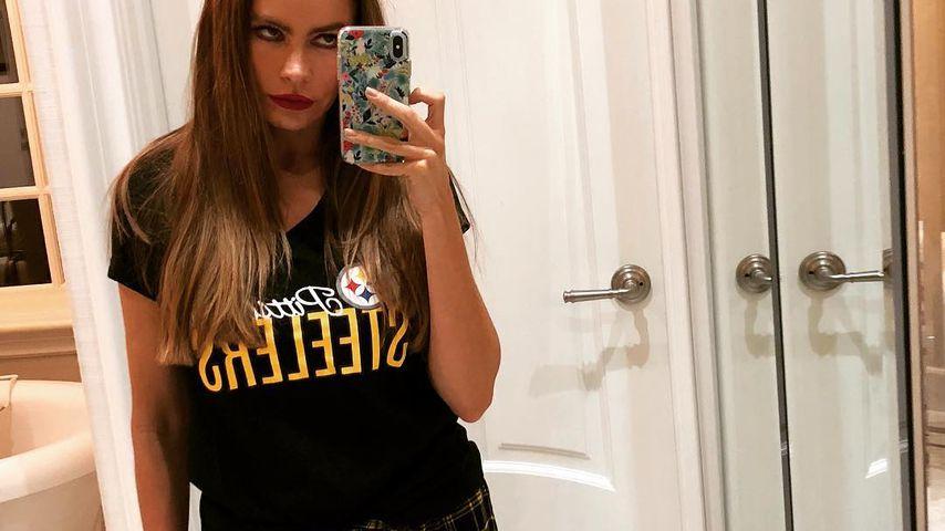 Mieses Geschenk: Sofia Vergara unhappy mit Xmas-Pyjamas!
