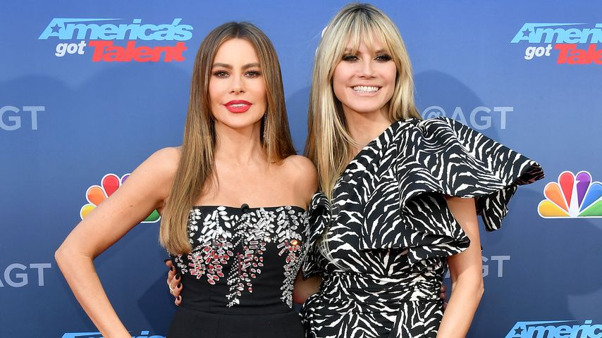 "Sofia Vergara und Heidi Klum bei ""America's Got Talent"""
