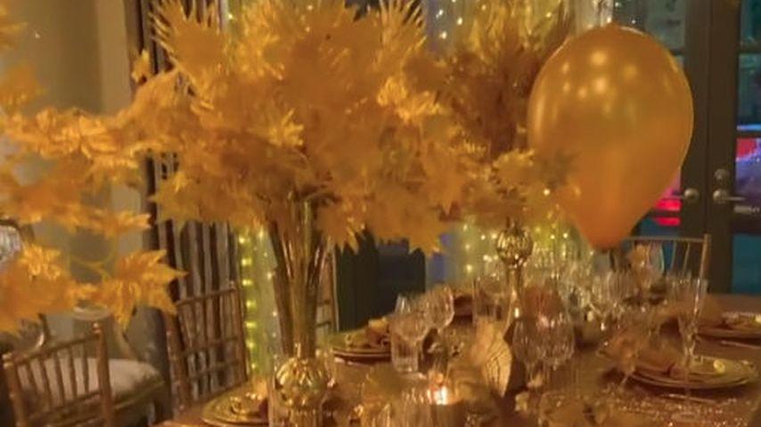 Sofia Vergaras Thanksgiving-Gedeck