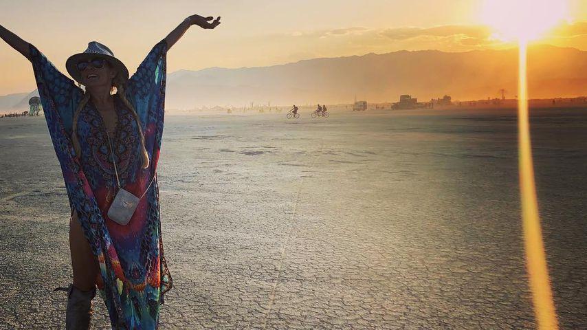 Sonya Kraus, Burning Man Festival 2018