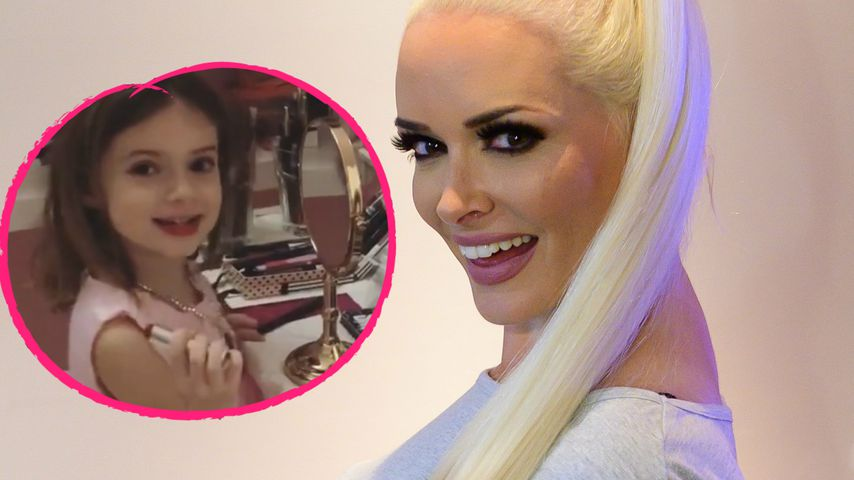 """Ganz die Mama"": Sophia Cordalis schon richtige Beauty-Queen"