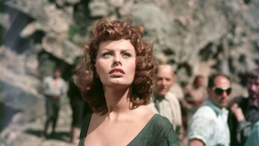 """Sophia Loren im Film """"Stolz und Leidenschaft"""" 1957"""
