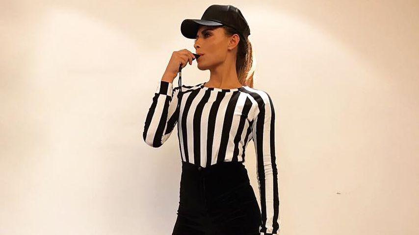 Sexy Referee: Verteilt Sophia Thomalla bald rote Karten?