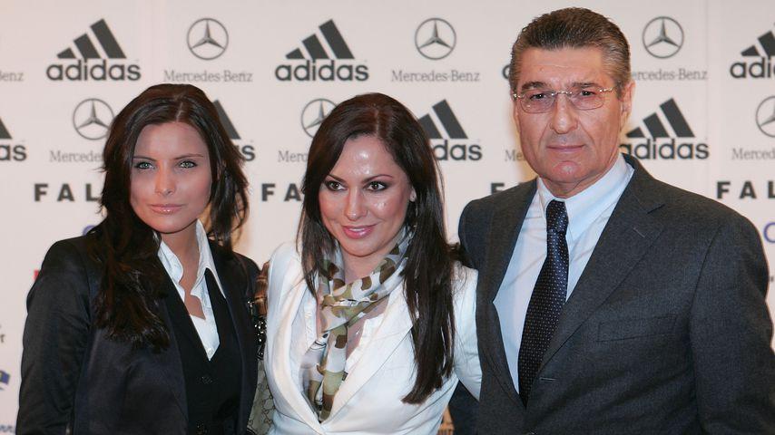 Sophia Thomalla, Simone Thomalla und Rudi Assauer in München 2007