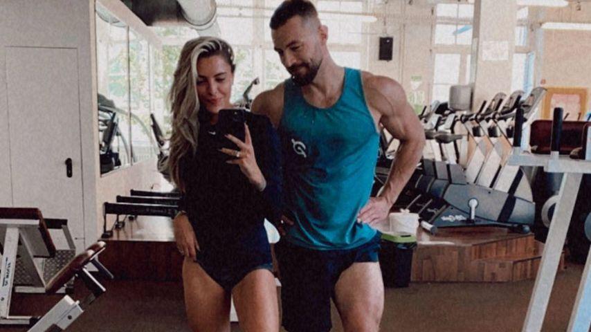 Sophia Thomalla und ihr Fitness-Trainer Erik Jäger