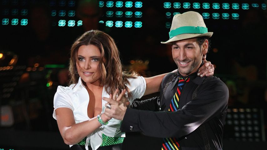 "Sophia Thomalla und Massimo Sinató bei ""Let's Dance"", April 2010"