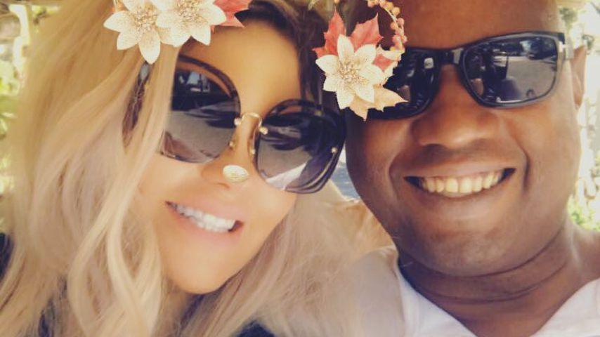 Sophia Vegas und Daniel Charlier im Urlaub