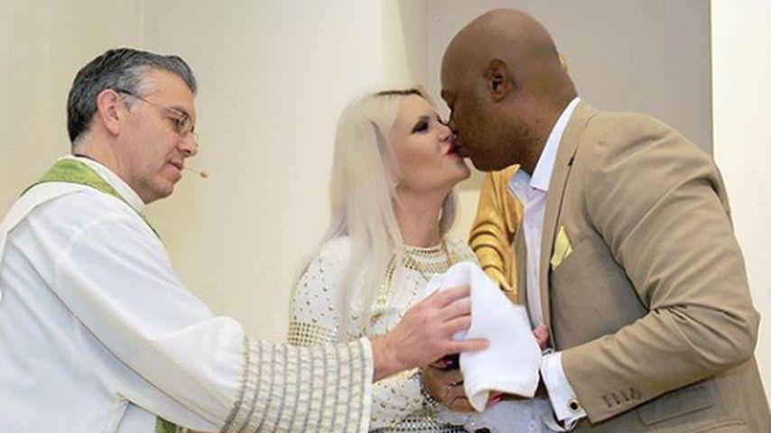 Süße Fotoreihe: Hier wird Sophia Vegas' Töchterchen getauft!