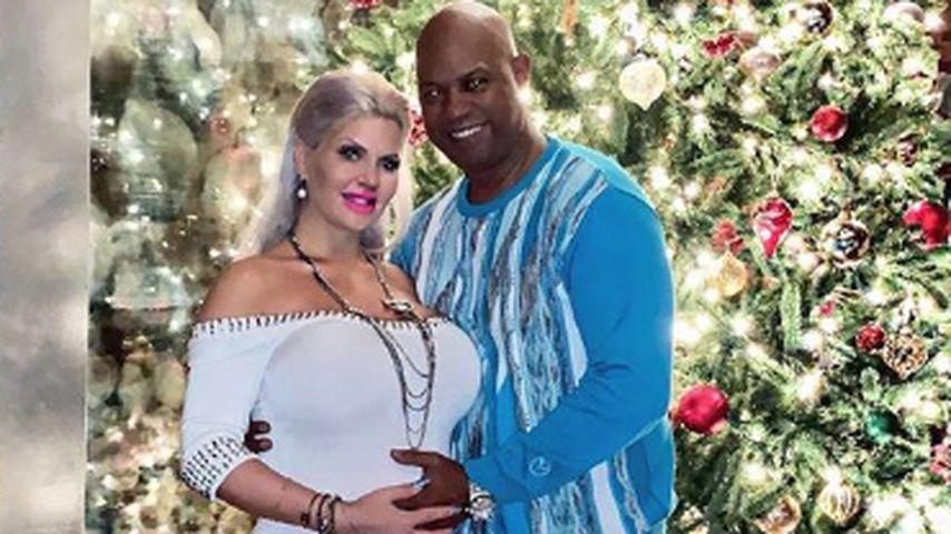 Sophia Vegas: Dans Mom streichelt Baby-Bauch zum ersten Mal!