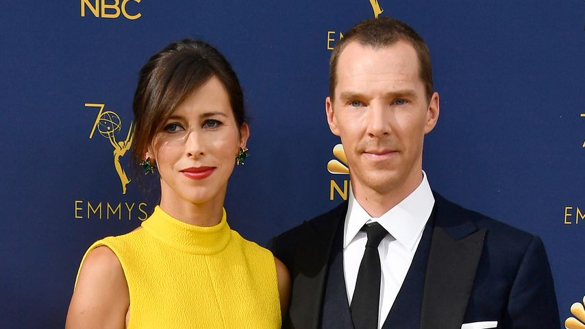 Sophie Hunter und Benedict Cumberbatch bei den Emmy Awards 2018
