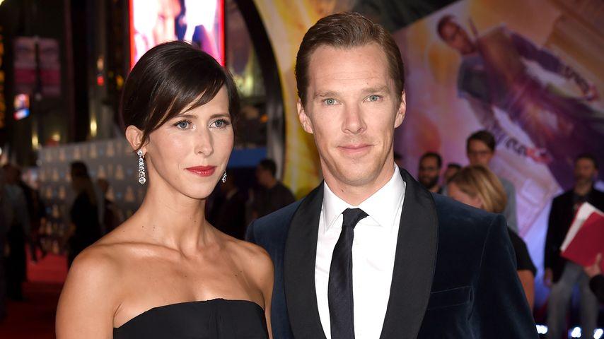 Sophie Hunter und Benedict Cumberbatch in Los Angeles