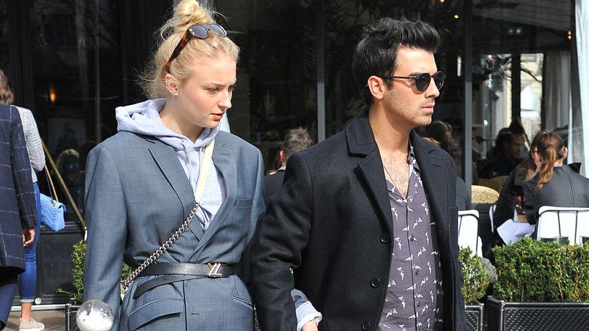 Sophie Turner und Joe Jonas in Paris 2018