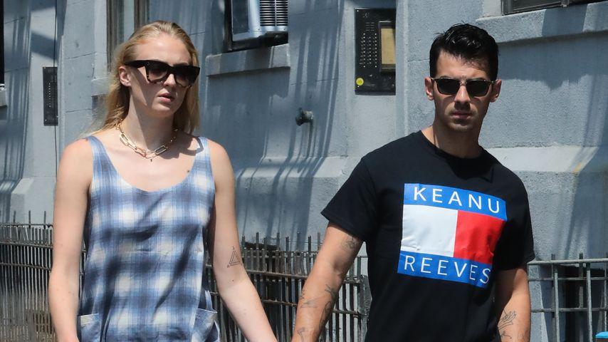Sophie Turner und Joe Jonas in New York, Juli 2019
