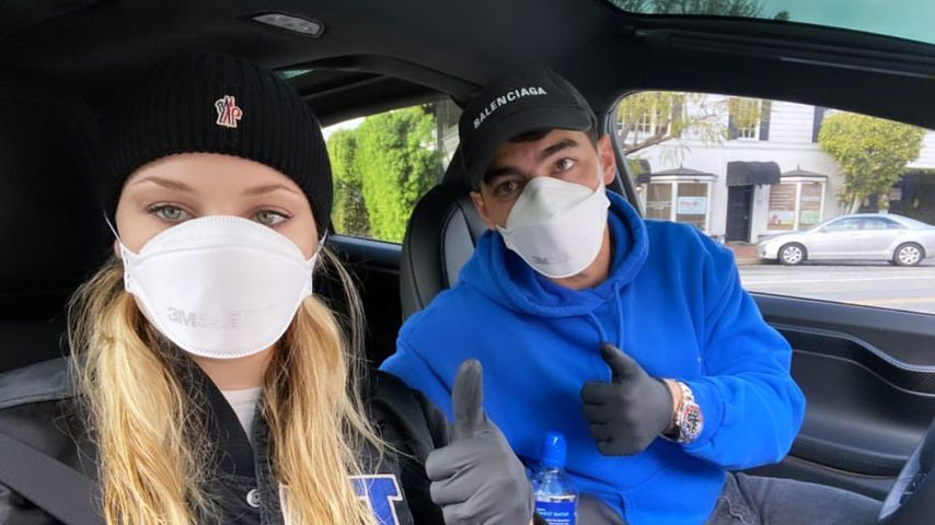 Sophie Turner und Joe Jonas im März 2020