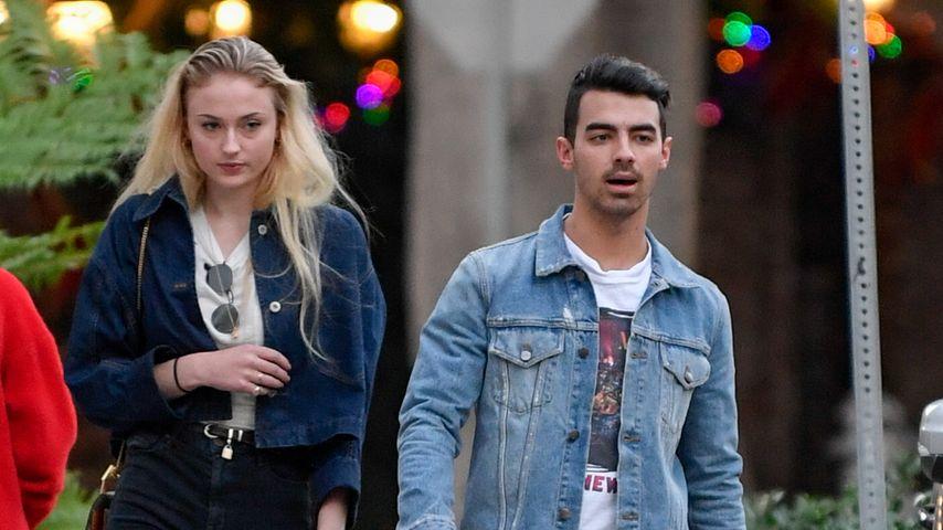 Sophie Turner und Joe Jonas beim Verlassen eines Musikstudios in Beverly Hills