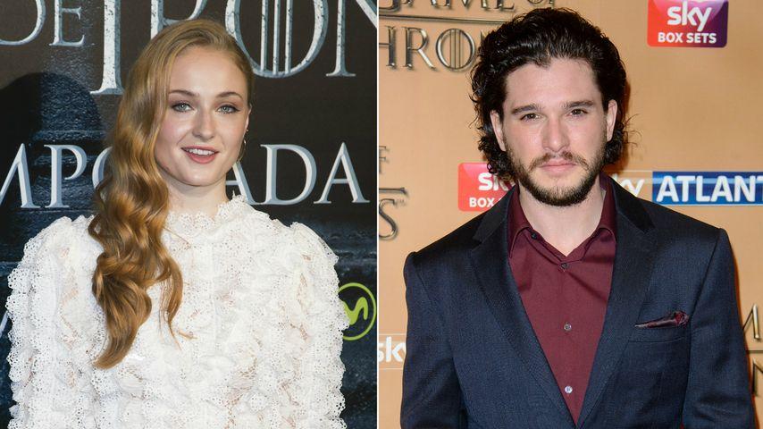 GoT-Hochzeit von Sansa & Jon? So reagiert Sophie Turner
