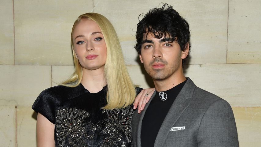 Sophie Turner und Joe Jonas in Paris