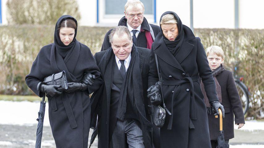 Nach Sturz: Fritz Weppers Frau Angela (†76) wurde beerdigt