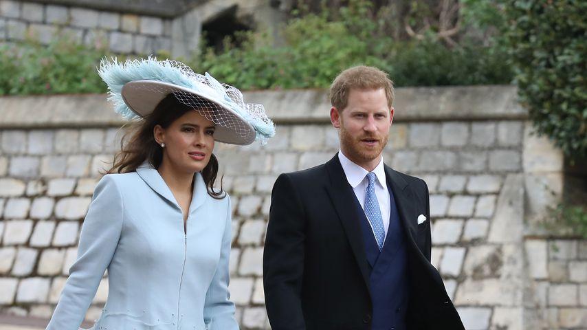 Sophie Winkleman und Prinz Harry  auf der Hochzeit von Lady Gabriella Windsor